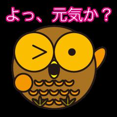フクロウくんパート3 日本語バージョン
