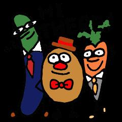 The vegenessmen ベジタブルなビジネスマン
