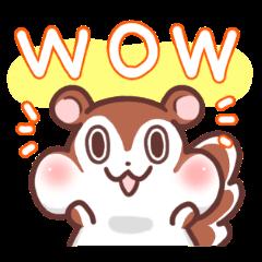 ぷにりんのスタンプ