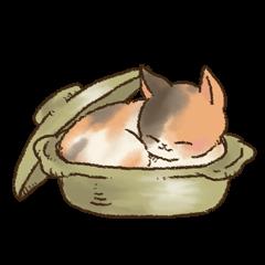 可愛いネコ&犬スタンプ
