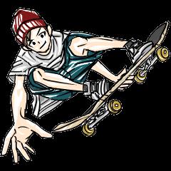 スケートボーダーズスタンプ