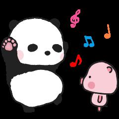 スウィート パンダとハニー豚