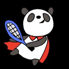 パンダのラケットlife