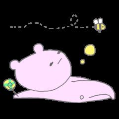 熊さんとペロペロキャンディー