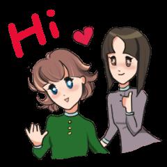 Stewardess Mao & Niu