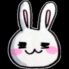 きらきらおめめウサギ