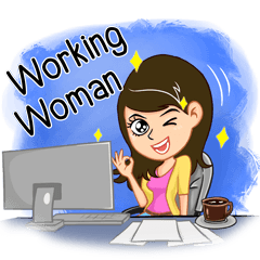Minty- Lovely working woman