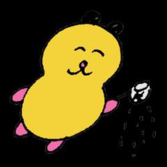 [LINEスタンプ] まぶして! こなまぶし (1)