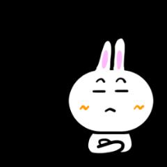 伝えるウサギ