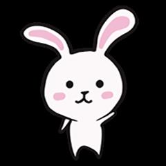 ウサギさんスタンプ