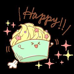 カップケーキさん。