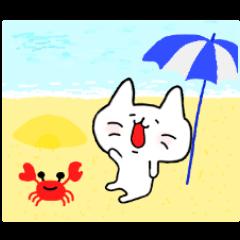 ゆるニャン 夏休み