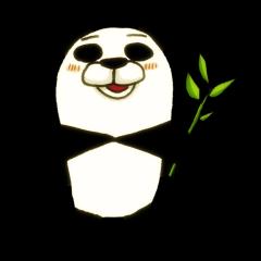 笹が主食の肉食獣パンダさん