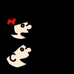 横山クンと横河サン