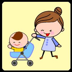 育児ママとモンスターベイベー
