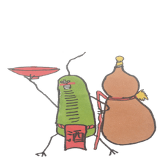 ミドリムシのお豆ちゃん4【飲み会お酒編】