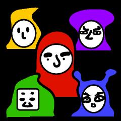 5colors忍者