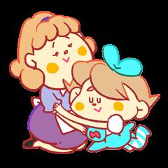 【バースデーケーキ】ママとメイメイ