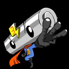 電池ヒーロー!単3くん!