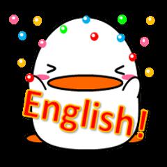 キュートなコトリスタンプ☆ English ver.