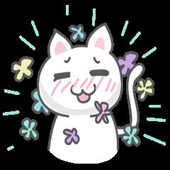 White cat (Eng.version of kai mook)