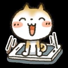 [LINEスタンプ] 「まるちゃん」ほっこり敬語スタンプ (1)