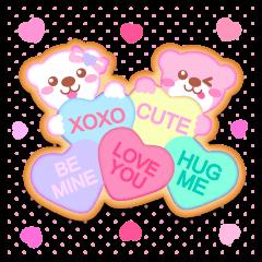 ラブリーアイシングクッキー2 英語・日本語