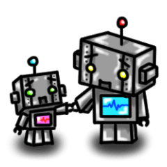 ブリキ製ロボットの日常