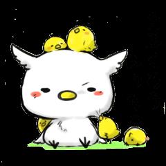 白フクロウ ふぅちゃ