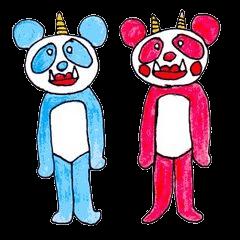 オニパンダ~トオル&ジュンコ~