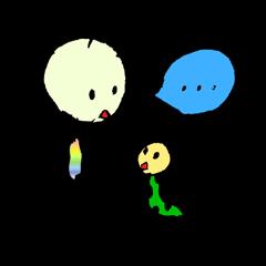 虹虫の日常①
