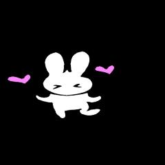 [LINEスタンプ] 筆ぺん兎