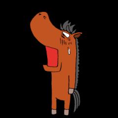 都井岬の馬ケイプ