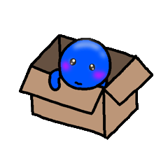 [LINEスタンプ] 青いやつ4