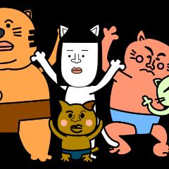 ネコった!相撲ねこ(初場所)