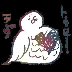 [LINEスタンプ] 毛の祭典 色々な生き物編 (1)