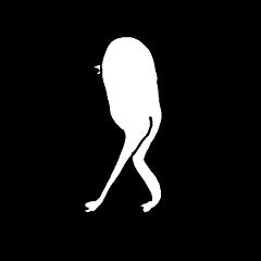 [LINEスタンプ] 半鳥人
