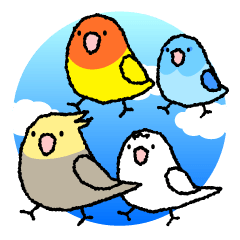 仲良し鳥軍団「レレレレインコーズ」