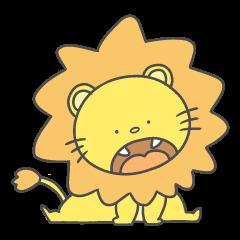 ほのぼのライオン