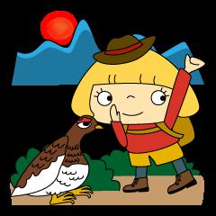 山ガール!はなちゃん 山登り登山部の巻①