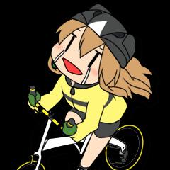 サイクリングスタンプ自転車好きな人向けV3