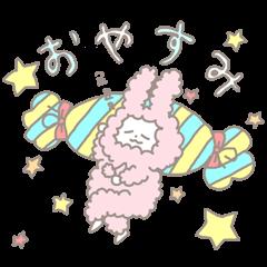 かわいうさぎの睡眠攻防戦線!