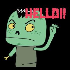 [LINEスタンプ] I'm Zombie