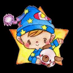 ロイとレオンの真夜中の星空会