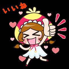 暴れる!きのこ姫!