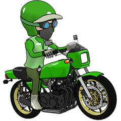 俺はバイクに乗り続ける