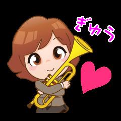 青春!吹奏楽&音楽大好き♪