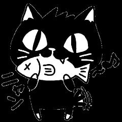 黒猫にゃん太