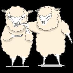 群れない羊