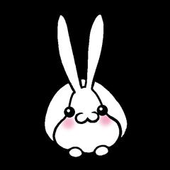 [LINEスタンプ] うさぎですぅ (1)